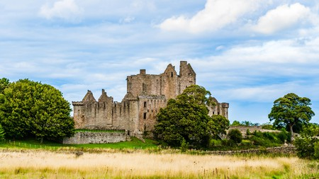 Craigmillar Castle, best known for its association with Mary, Queen of Scots, is one of the top castles to visit near Edinburgh