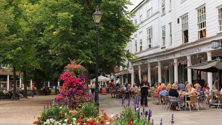 The picturesque town of Tunbridge Wells, UK, has a fantastic selection of restaurants for you to try