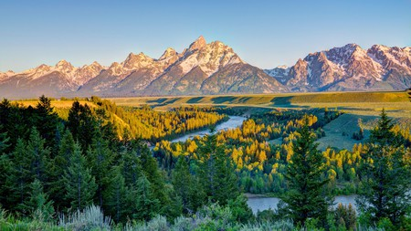 The Grand Tetons is an outdoor enthusiast's paradise