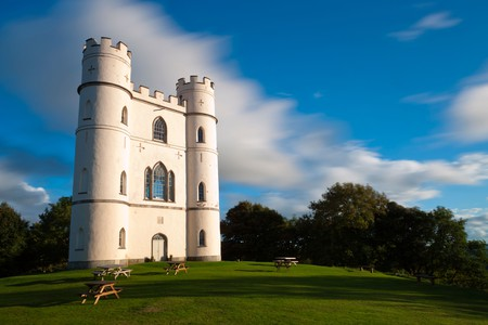 Haldon Belvedere, also known as Lawrence Castle, an 18th century tower in woodland on Haldon Hill near Exeter in Devon  England