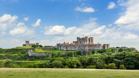 Dover Castle is among the top historical places to visit in Kent, England