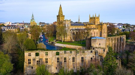 The old abbey and palace stand testament to Dunfermline's links with royalty