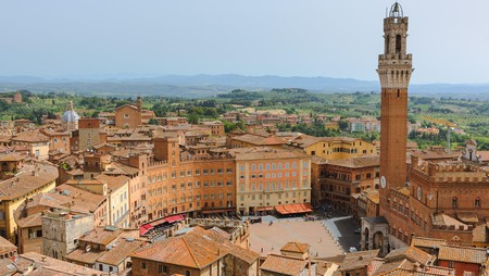 Siena is a charming Tuscan city that's less crowded than Florence