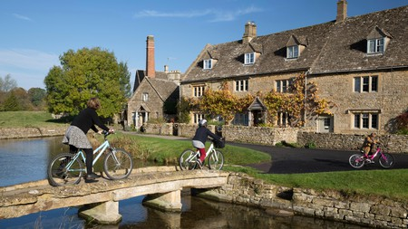 The Cotswolds are full of beautiful villages, including Lower Slaughter, on the River Eye