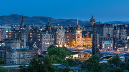Edinburgh is as exciting at night as it is during the day