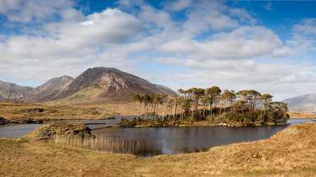 Connemara National Park is worth a visit on any solo trip around Ireland