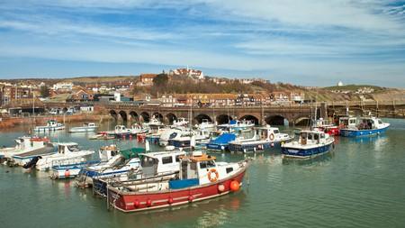 Seafood fans should make a beeline for Folkestone Harbour