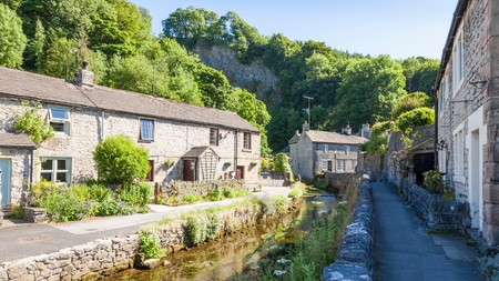 Castleton is one of the most picturesque villages in the Peak District