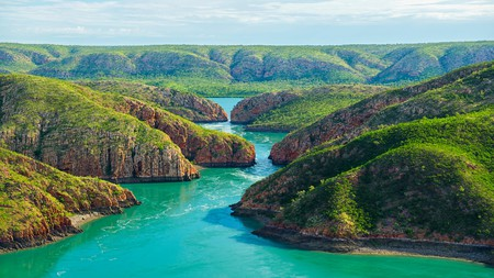"Sir David Attenborough once described the Horizontal Falls as ""one of the greatest natural wonders of the world"""