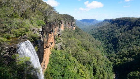 Fitzroy Falls, in the Southern Highlands, is a spectacular sight well worth a visit