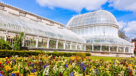 Belfast is full of beautiful attractions, including the Palm House in the Botanic Gardens