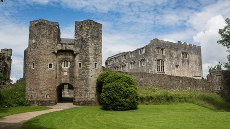 Berry Pomeroy Castle in South Devon is one of the most striking castles across Devon and Cornwall