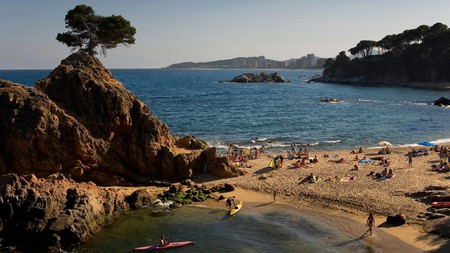 Platja d´Aro, Cap Roig beach, Costa Brava