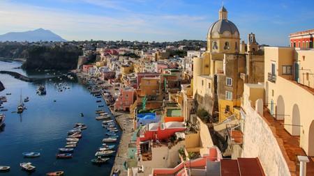 Procida lies off the coast of Naples
