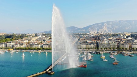 Geneva isn't short on nature or beautiful views