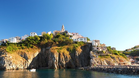 Krk is the largest of the Croatian islands and also one of the most beautiful