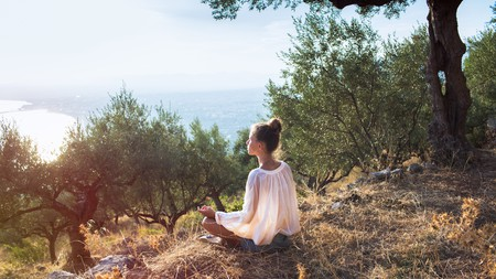 The peacefulness found in the Greek islands make them the perfect location for a wellness retreat