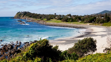 These coastal towns in New South Wales offer stretches of golden sand and a laid-back atmosphere