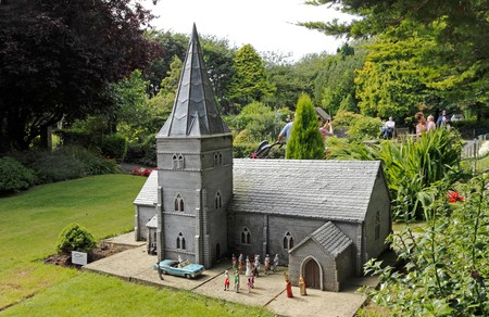 The Model Village, Blackpool. Image shot 2016. Exact date unknown.