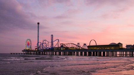 The Galveston Island Historic Pleasure Pier is one of the top attractions in Galveston, Texas