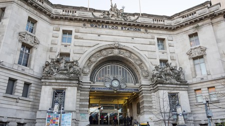 Many great pubs are within walking distance of Waterloo Station in London
