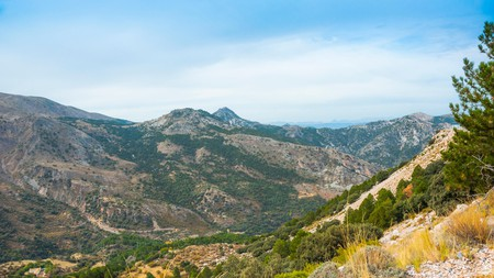 The mountain landscape of Spain's Sierra Nevada offers many exciting attractions