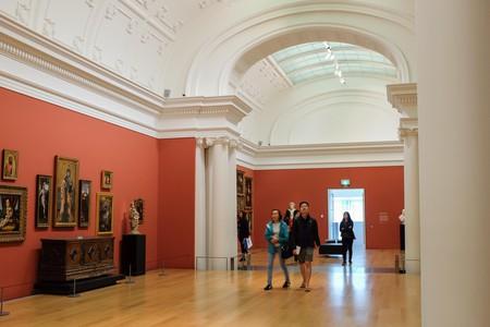 Inside Auckland Art Gallery Toi o Tamaki in New Zealand.