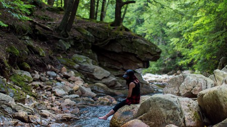 Known as the Green Mountain State, Vermont is the perfect place to experience forest bathing