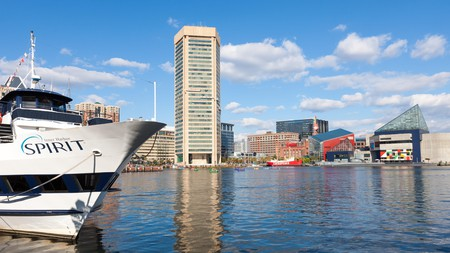 Baltimore's Inner Harbor is one of the top places to check out in the state of Maryland