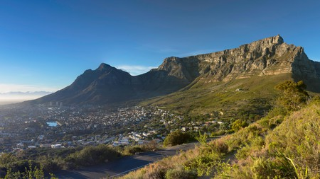 Table Mountain is a beautiful, natural landmark in Cape Town