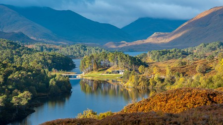 The beauty of Scotland can be found on hikes through the Highlands