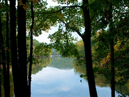 Lake Lillinonah on the Lillinonah Trail in Paugussett State Forest is one of the best spots in Fairfield County, Connecticut