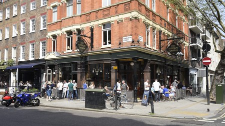 Victorian splendour at the Fitzroy Tavern