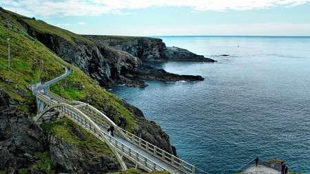While at Mizen Head, look for dolphins, whales and seals in the ocean below