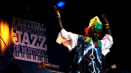 The Montreal International Jazz Festival is the largest one of its kind in the world
