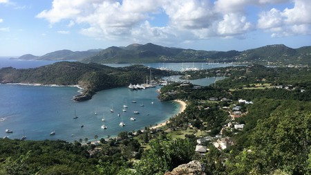 The Caribbean country of Antigua and Barbuda is one of the destinations now welcoming visitors from the US