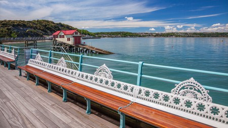 A stroll on the Mumbles Pier in Swansea, Wales, is highly recommended