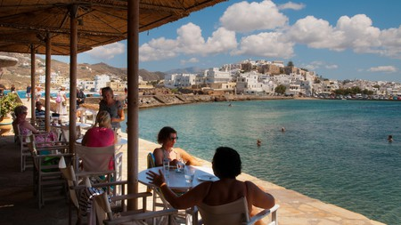 If sitting at the water's edge enjoying freshly caught seafood is your idea of heaven, we highly recommend a trip to the Greek island of Naxos