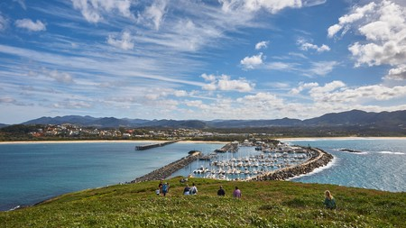 The town of Coffs Harbour offers a range of things to do, including a trip to Muttonbird Island