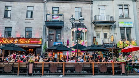 Montreal's Quartier Latin is a lively neighborhood with a thriving bar scene