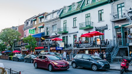 In the bustling Quartier Latin, Montreal, you'll find many great restaurants