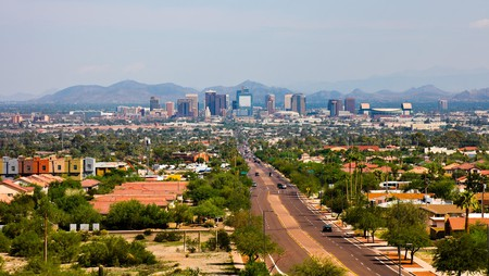 With its mountain skyline, Phoenix, Arizona, has a lot to offer