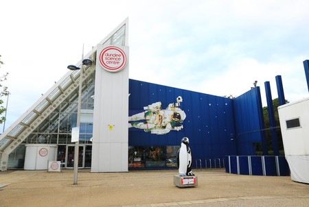 Dundee Science Centre, with exhibitions, shows and demonstrations for all the family, in Scotland, UK