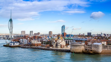The coastal city Portsmouth, UK, is a place of contrast, character and quirk