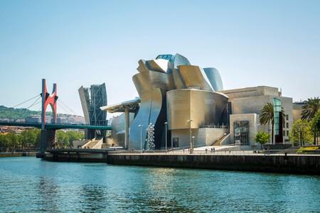 The Guggenheim Museum in Bilbao, Basque Country, Spain, Europe