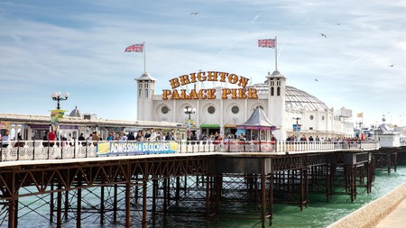 Be sure to pay a visit to Brighton Palace Pier, whether it be for a spell in the arcade or a hearty fish-and-chip feast