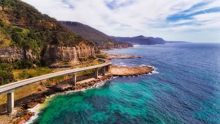 Scenic road trips from Sydney include the Grand Pacific drive via the Sea Cliff Bridge