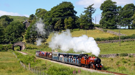 Take the Ravenglass and Eskdale Railway to enjoy breathtaking views of the Lake District's countryside