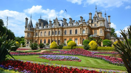 Waddesdon Manor is the only stately home in Britain to be specifically designed in the Neo-Renaissance style of a French chateau
