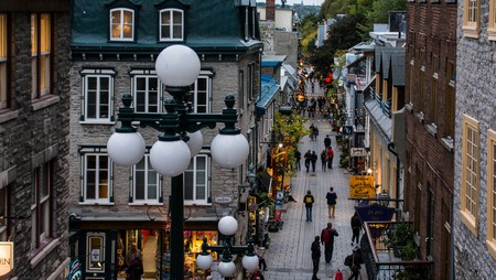 Rue du Petit-Champlain is one of the most photographed streets in Quebec City